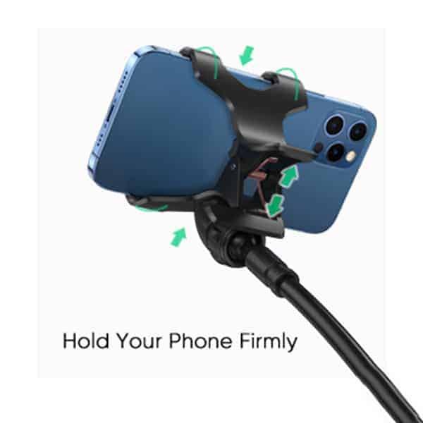 Bezpiecznie trzyma telefon image