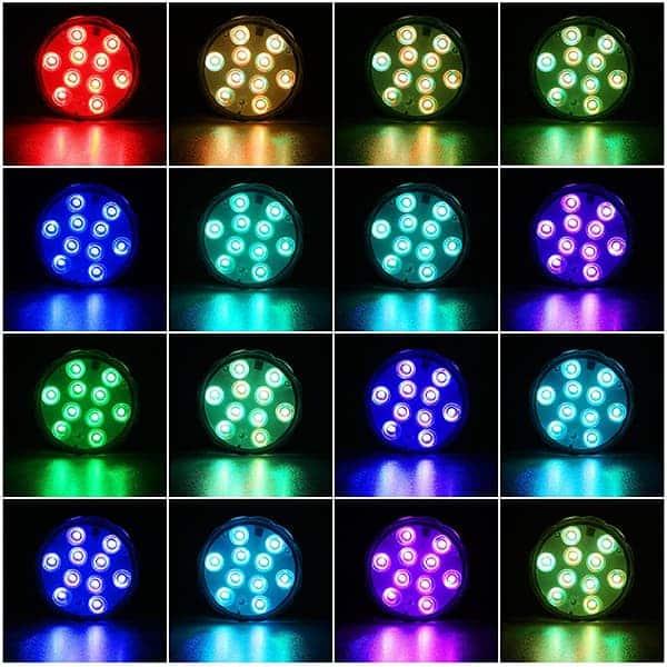 16 kolorów i 4 tryby zmiany kolorów image