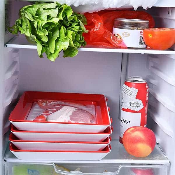Można używać w kuchence mikrofalowej, lodówce i zamrażarce image
